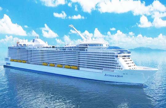 Ocean Cruise Guides Inside Anthem Of The Seas Safety